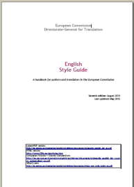 Diciembre 2013 infotra english style guide a handbook for authors and translators in the european commission 2013 fandeluxe Image collections