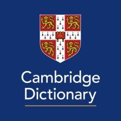 Resultado de imagen de cambridge dictionary